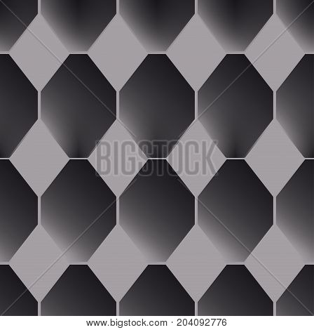 abstract seamless geometric pattern imitating parquet or tiled surface