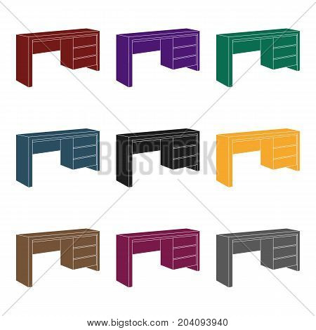 Small Table Writing Vector Photo Free Trial Bigstock