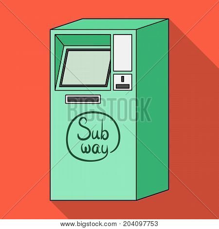 Apparatus, single icon in flat style.Apparatus vector symbol stock illustration . poster