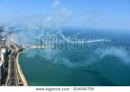 Chicago, Illinois - Usa - August 19, 2017: 59Th Chicago Water Show