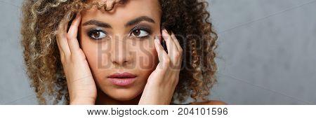 A Beautiful Black Woman Portrait.