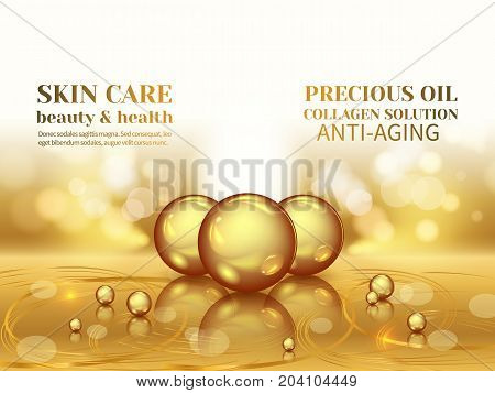 Collagen Serum Droplets