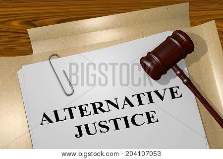 Alternative Justice Concept