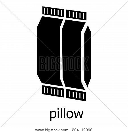 Pillow icon. Simple illustration of pillow vector icon for web