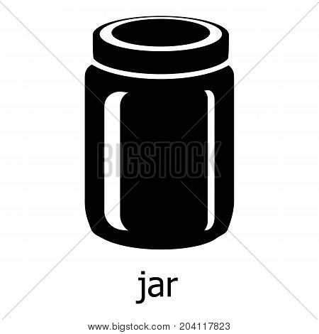 Jar icon. Simple illustration of jar vector icon for web