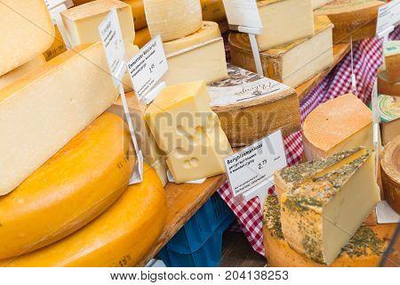 Dutch Cheese Assortment, Amsterdam