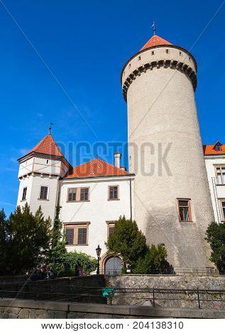 Konopiste Castle In Summer