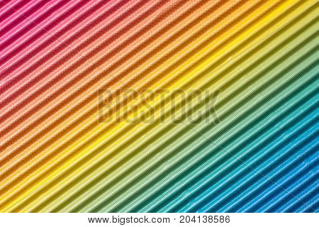 Colorful corrugated cardboard or paper texture background