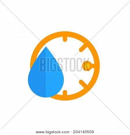 humidity icon, vector, eps 10 file, easy to edit