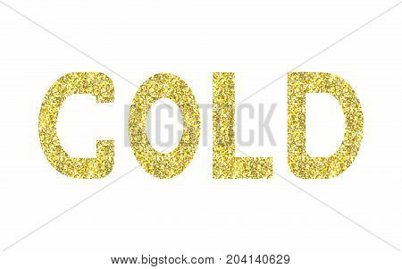 gold moder brush text gold and ink lettering