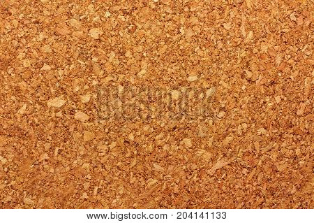 Brown natural cork board texture for background