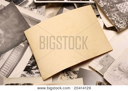 Vintage Photo. Abstract Background.
