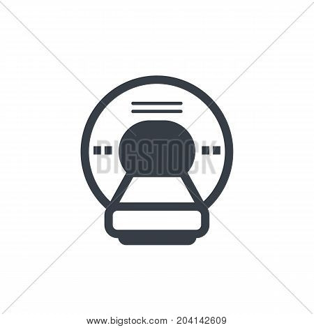 MRI vector icon, eps 10 file, easy to edit