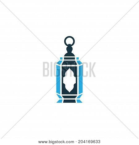 Premium Quality Isolated Decorate Element In Trendy Style.  Lantern Colorful Icon Symbol.