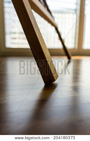 picture tripod abstract shot with floor design and light view