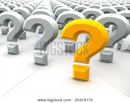 Question Sign. 3d