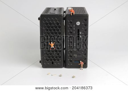 Little Toys With Model Climb Pc.
