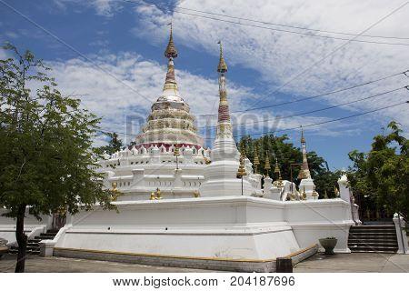 Wat Songtham Worawihan At Amphoe Phra Pradaeng In Samut Prakan, Thailand