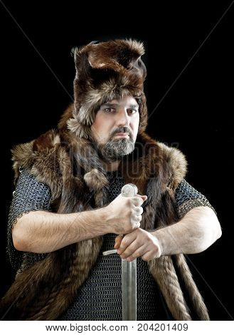 barbarian medieval Cossack ,  history knights image