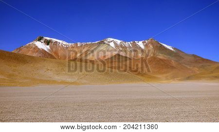 Dali desert in Altiplano. Bolivia south America