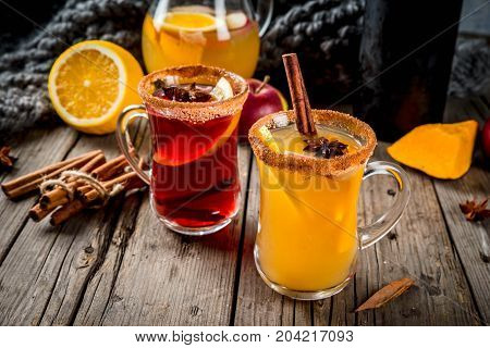 White And Red Hot Sangria