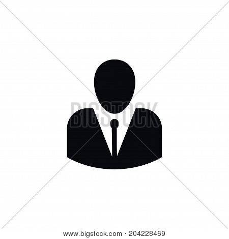 Person Vector Element Can Be Used For Person, Male, Man Design Concept.  Isolated Male Icon.