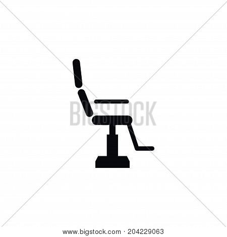 Furniture Vector Element Can Be Used For Barbershop, Chair, Furniture Design Concept.  Isolated Armchair Icon.