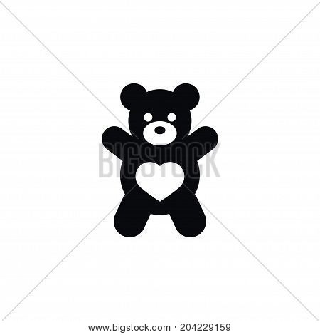 Teddy Vector Element Can Be Used For Teddy, Bear, Doll Design Concept.  Isolated Doll Icon.
