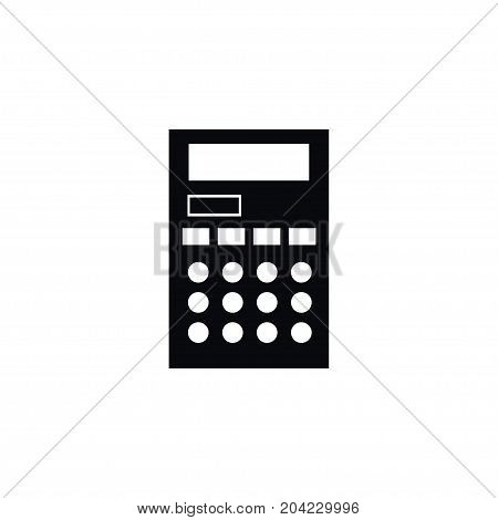Accounting Vector Element Can Be Used For Accounting, Calculator, Calculate Design Concept.  Isolated Calculate Icon.