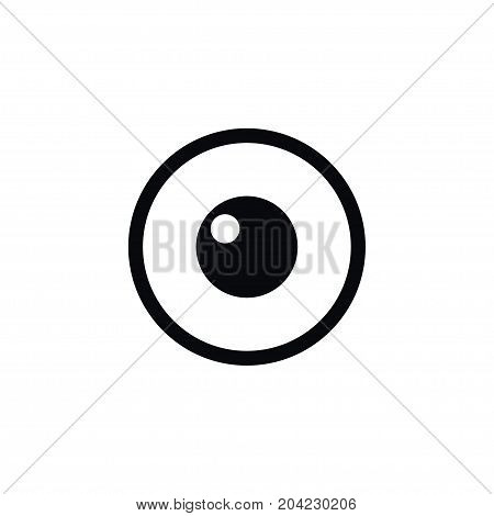 Look Vector Element Can Be Used For Eye, Look, View Design Concept.  Isolated Eye Icon.