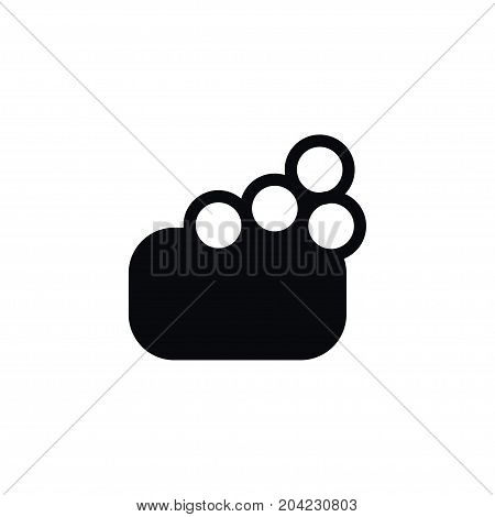 Sponge Vector Element Can Be Used For Foam, Soap, Sponge Design Concept.  Isolated Foam Icon.