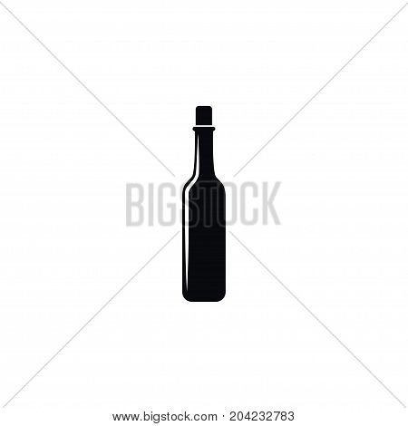Vodka Vector Element Can Be Used For Alcohol, Vodka, Bottle Design Concept.  Isolated Alcohol Icon.