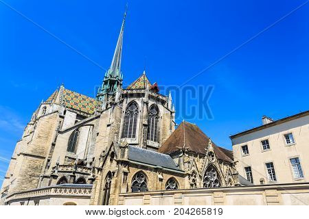 Cathedral of Saint Benigne in Dijon Burgundy France.