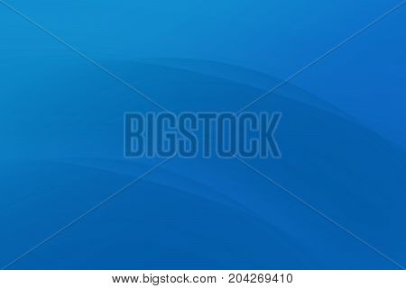 Abstract deep blue color curve modern background
