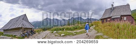 Zakopane, Poland - September 10, 2017: Track To Murowaniec In Ta
