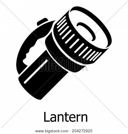 Lantern icon. Simple illustration of lantern vector icon for web