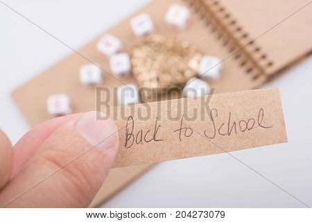Back To School Theme With A Heart