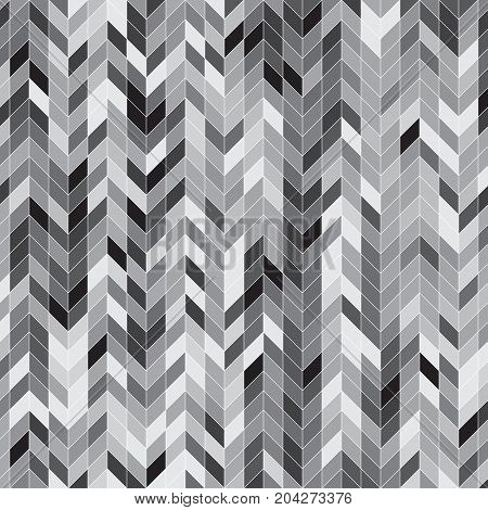 Abstract grey color stripe pattern background stock vector