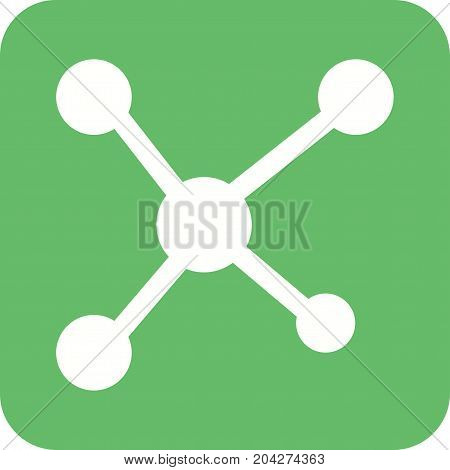 Networks, social, media icon vector image. Can also be used for IT Services. Suitable for use on web apps, mobile apps and print media.