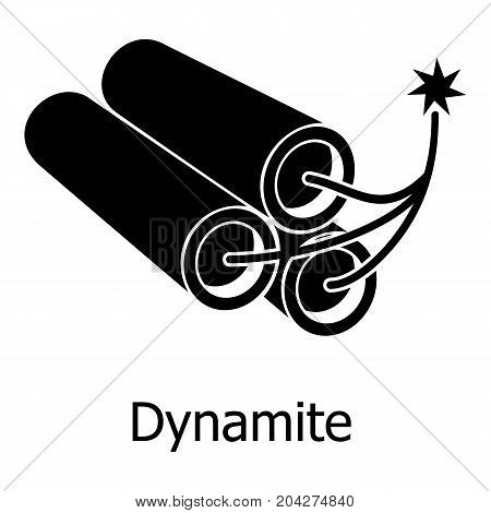 Dynamite icon. Simple illustration of dynamite vector icon for web