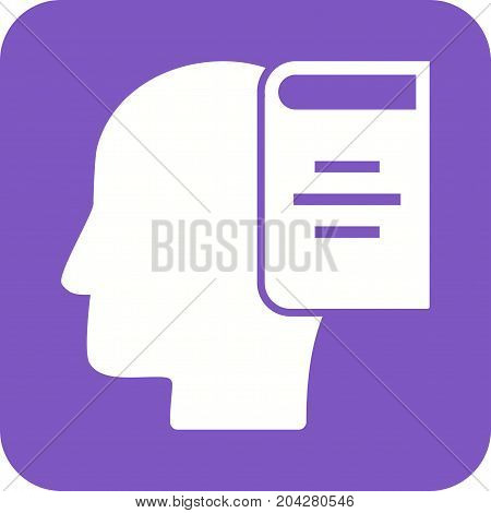Learning, skills, training icon vector image. Can also be used for soft skills. Suitable for mobile apps, web apps and print media.