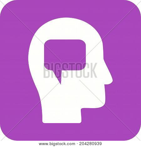 Communication, skills, business icon vector image. Can also be used for soft skills. Suitable for mobile apps, web apps and print media.