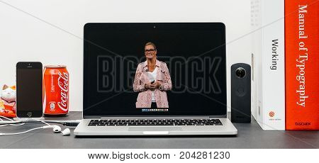 Apple Keynote With Apple Retail Chief Angela Ahrendts For A Retail-focused Update.