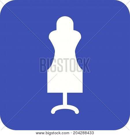 Tailor, dummy, mannequin icon vector image. Can also be used for Sewing. Suitable for web apps, mobile apps and print media.