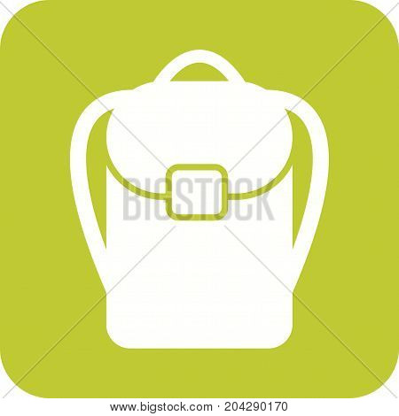 Backpack, journey, bag icon vector image. Can also be used for Mens Accessories. Suitable for use on web apps, mobile apps and print media.