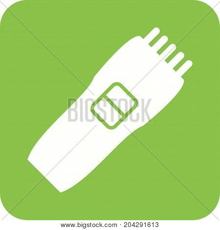 Trimmer, barber, hair icon vector image. Can also be used for Mens Accessories. Suitable for mobile apps, web apps and print media.