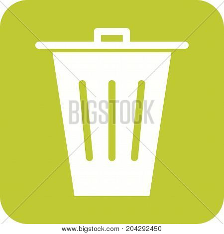 Bin, trash, paper icon vector image. Can also be used for Cleaning Services. Suitable for mobile apps, web apps and print media.