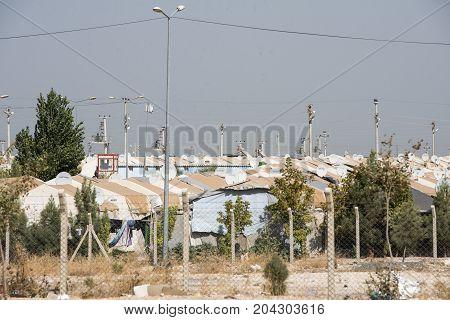 Refugee Camop In Akcakale