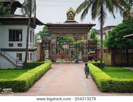 Bhutanese Buddhist Temple In Bodhgaya, India