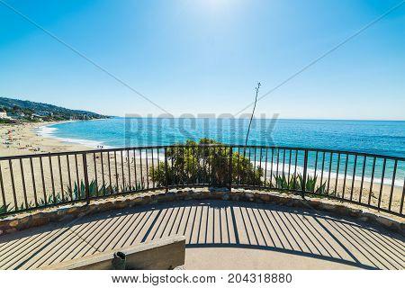 Laguna beach on a sunny day. California USA